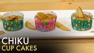 Soya chiku cupcake   How to Make Chiku Cake   Healthy Cup Cakes   Food Tak