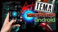 INCRÍVEL! Deixe seu Celular Android igual o do Tony Stark Homem de Ferro - Tema HUD FUTURISTA