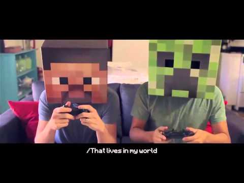 Friends With A Creeper' Minecraft Parody 1 Hour Loop mp4 ...