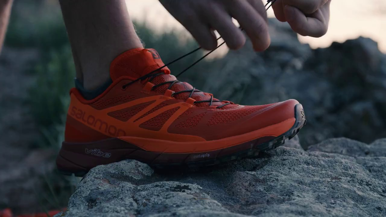 7eecc1b13809 Salomon Sense Ride Shoes - YouTube