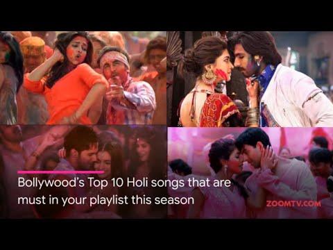Bollywood's Top 10 Holi Songs | Holi 2019 Special | Zoom Holi Fest Mp3