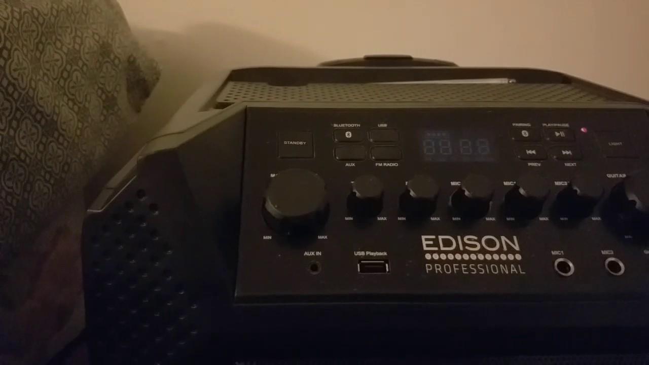 Edison Bluetooth Loudspeaker Review