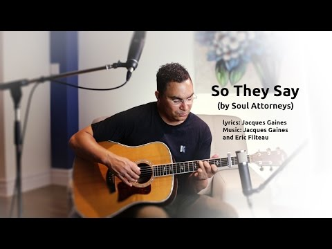 So They Say: unplugged and revised version