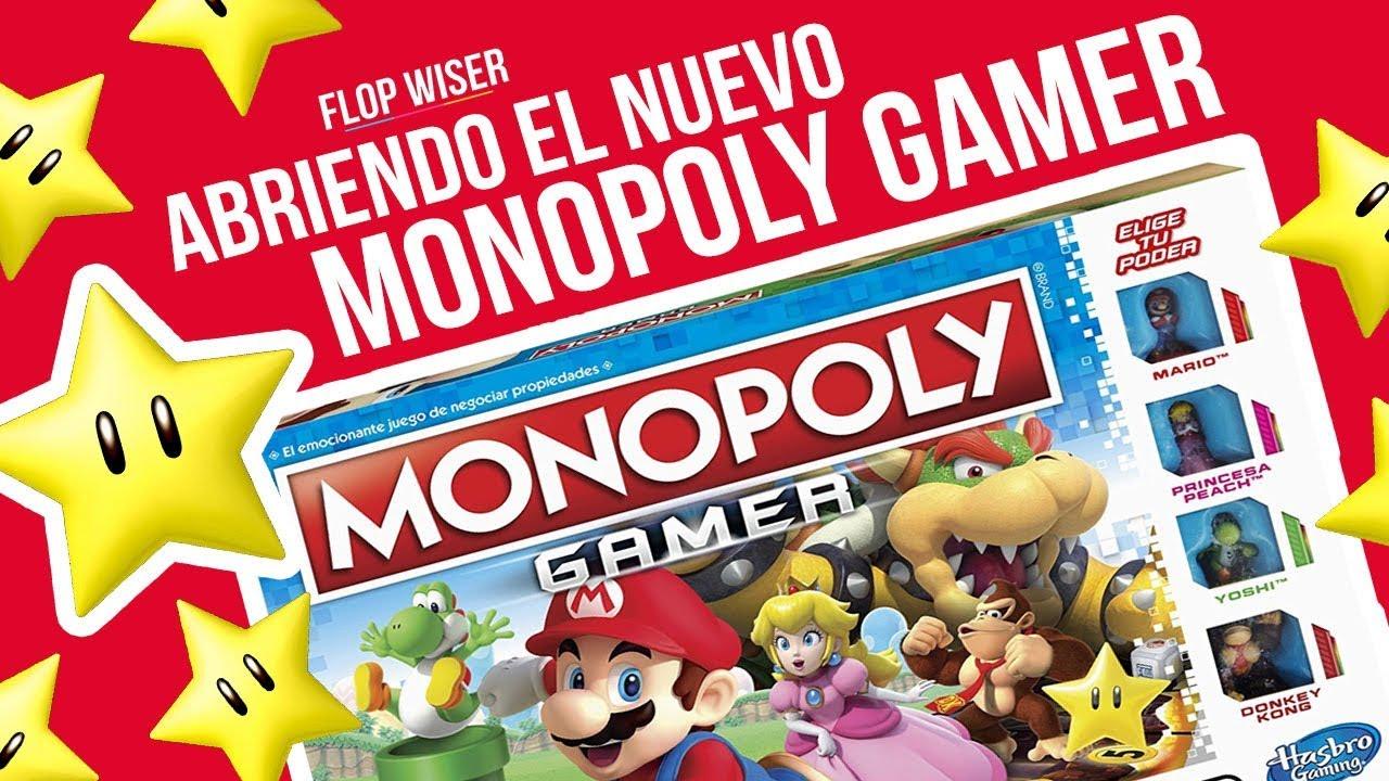 Abriendo El Nuevo Monopoly Gamer Flop Wiser Youtube