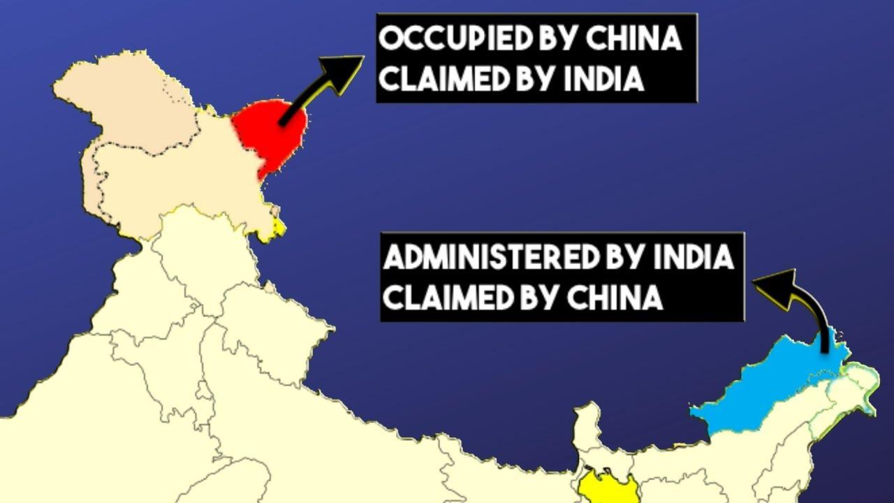 India China Border Dispute Explained Youtube Social Media Gk