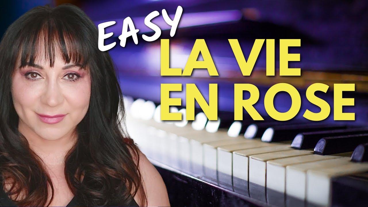 la vie en rose sheet music piano pdf
