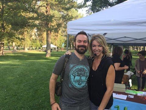 Yoga Rocks The Park - Salt Lake City: DTO and Corena Hammer Aug. 23, 2015