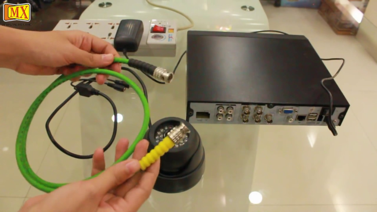security camera without router cable 97 jeep cherokee radio wiring diagram how to connect cctv 39s the monitor using dvr