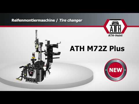 Tire changer ATH M72Z Plus from YouTube · Duration:  1 minutes 53 seconds