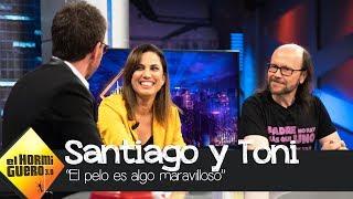 Santiago Segura y  su oscuro secreto con el pelo - El Hormiguero 3.0