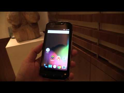 Cat S60 smartphone with thermal imaging camera hands-on