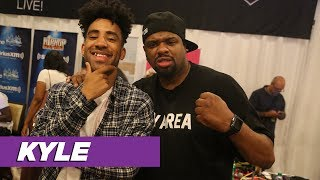 BIGVON Broadcasting Live From The BET Awards 2017 Radio Broadcast R...