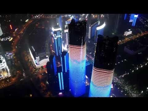 Lighting Animation of Nanchang River Side