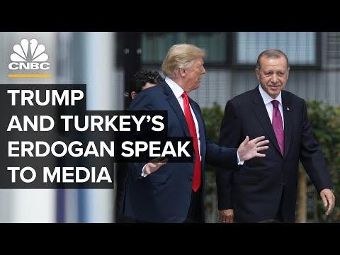 President Trump hosts Turkey's President Erdogan at the White House – 11/13/2019