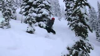 David Parkinson at Stevens Pass Thumbnail