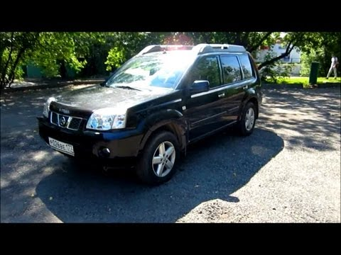 2005 Nissan X Trail. Start Up, Engine, and In Depth Tour.