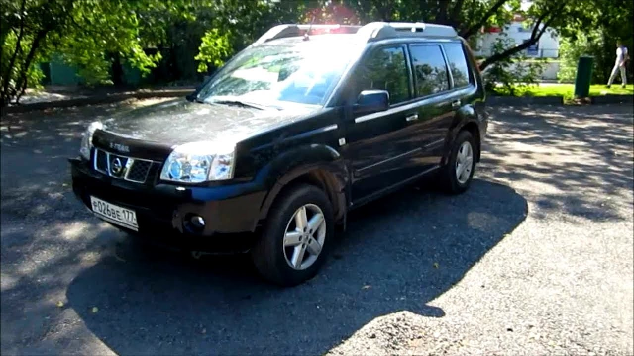 2005 nissan x trail start up engine and in depth tour youtube. Black Bedroom Furniture Sets. Home Design Ideas