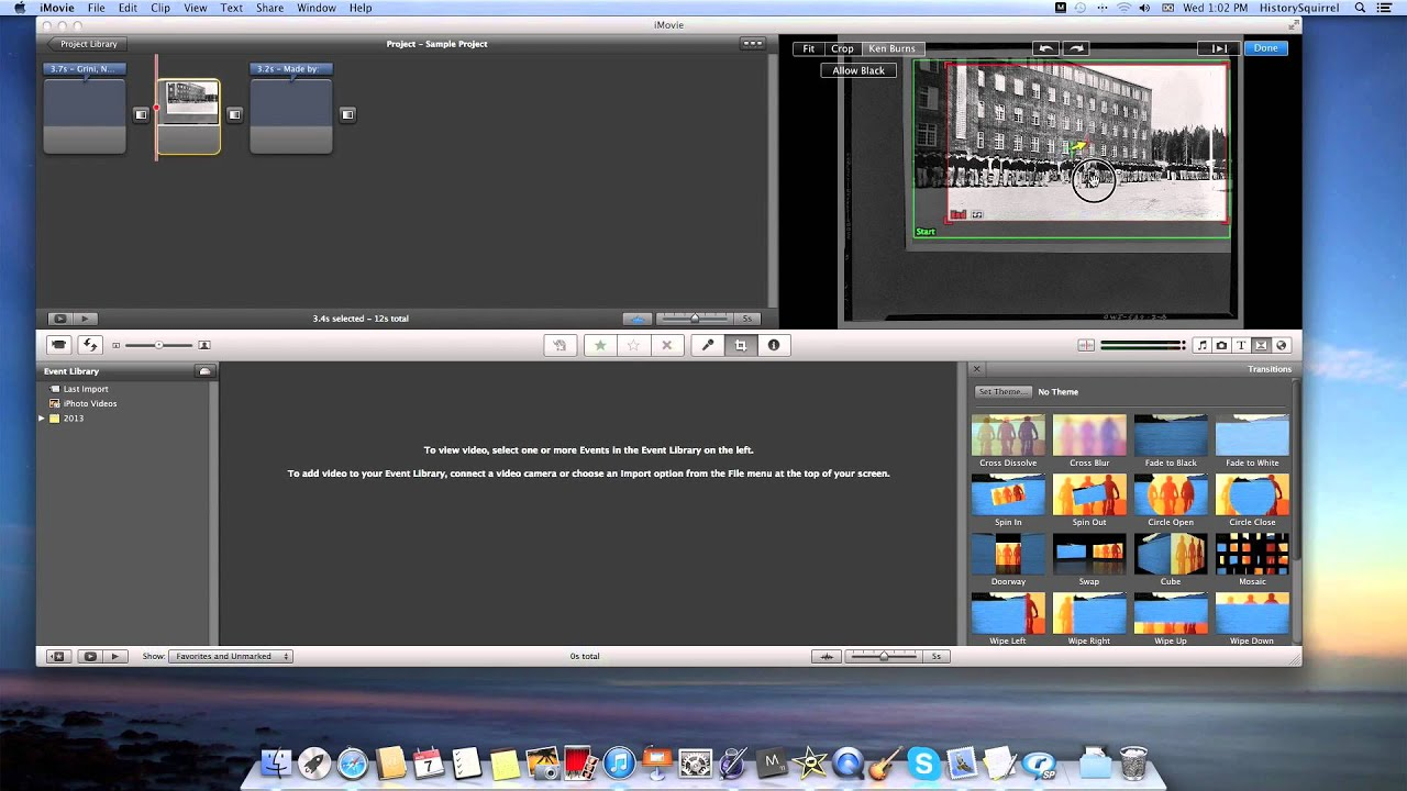 How to Use iMovie to Make History Documentaries Complete