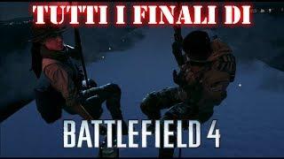 Battlefield 4: tutti i finali & discorso fra Irish e Hannah nei titoli di coda! - HD ITA