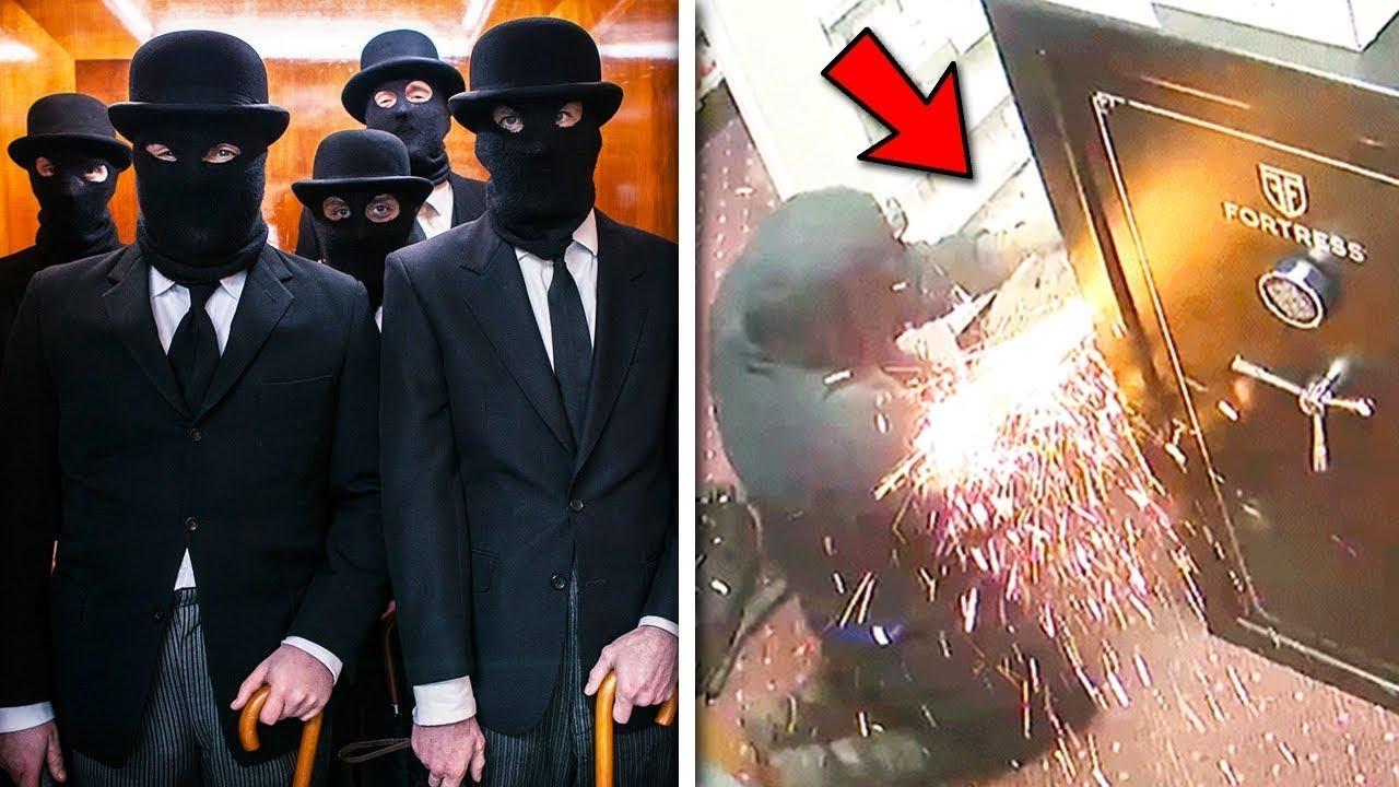 6 عمليات سرقة الأكثر عبقرية في التاريخ.. وكأنها من الأفلام والمسلسلات !!