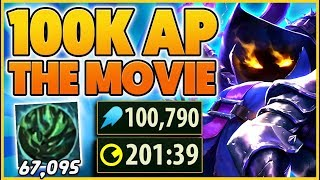 THE STORY OF HΟW I GOT 100K AP ON VEIGAR (URF MOVIE 6) - BunnyFuFuu