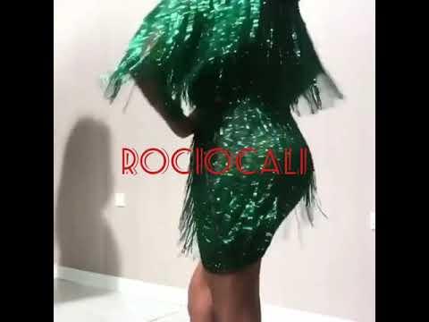 2420aa89a18b Vestido de flecos en lluvia de canutillos de cristal modas rociocali  622494878