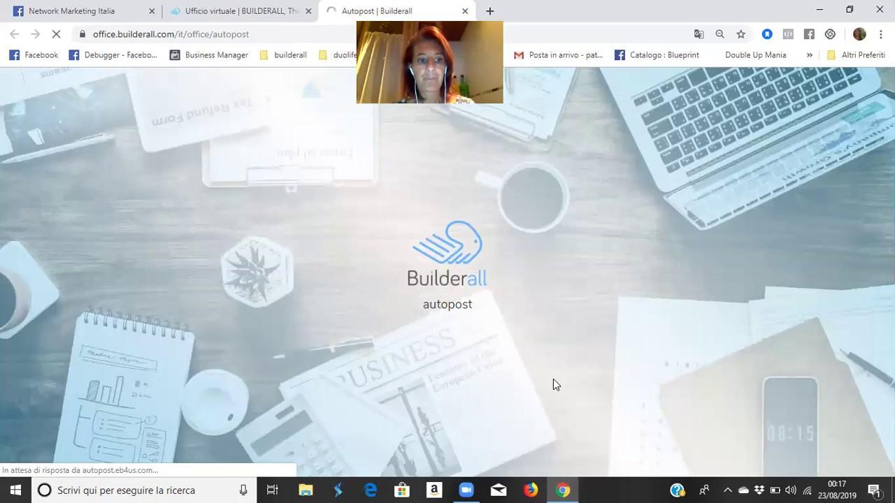 Builderall Piattaforma Digitale - Tutorial Strumento Autopost - 1à parte