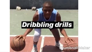Basketball Dribbling Drills That Could Better Your Handles And Make Your Weak Hand Stronger!!🏀🔥🏀