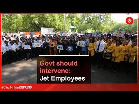Jet Airways Staffs Hold Protests, Demand Interim Funding From Govt