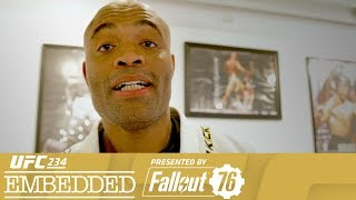 On Episode 1 of UFC 234 Embedded, former middleweight champion Anderson Silva puts his skills and personality on display for media members at his LA gym ...