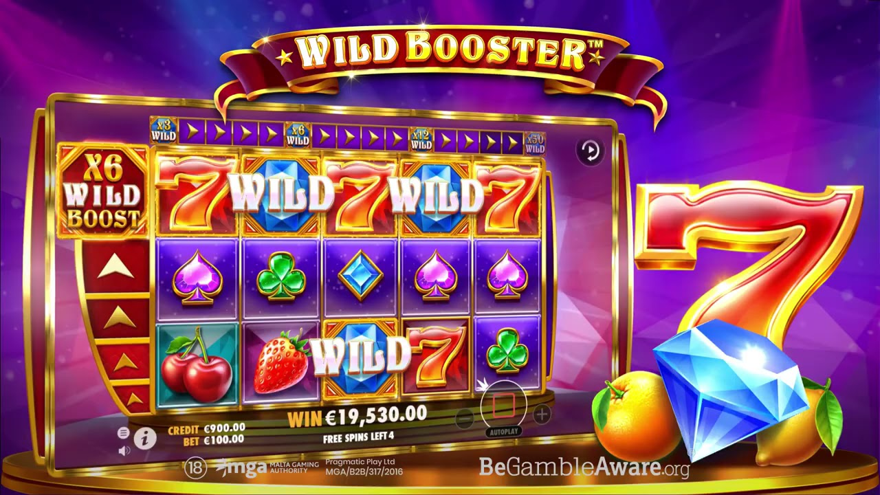 Wild Booster  Slot Play Free ▷ RTP 96.5% & High Volatility video preview
