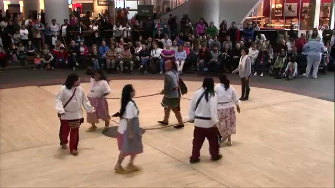 Cherokee Days 2014: Traditional Beaver Dance by the Eastern Band