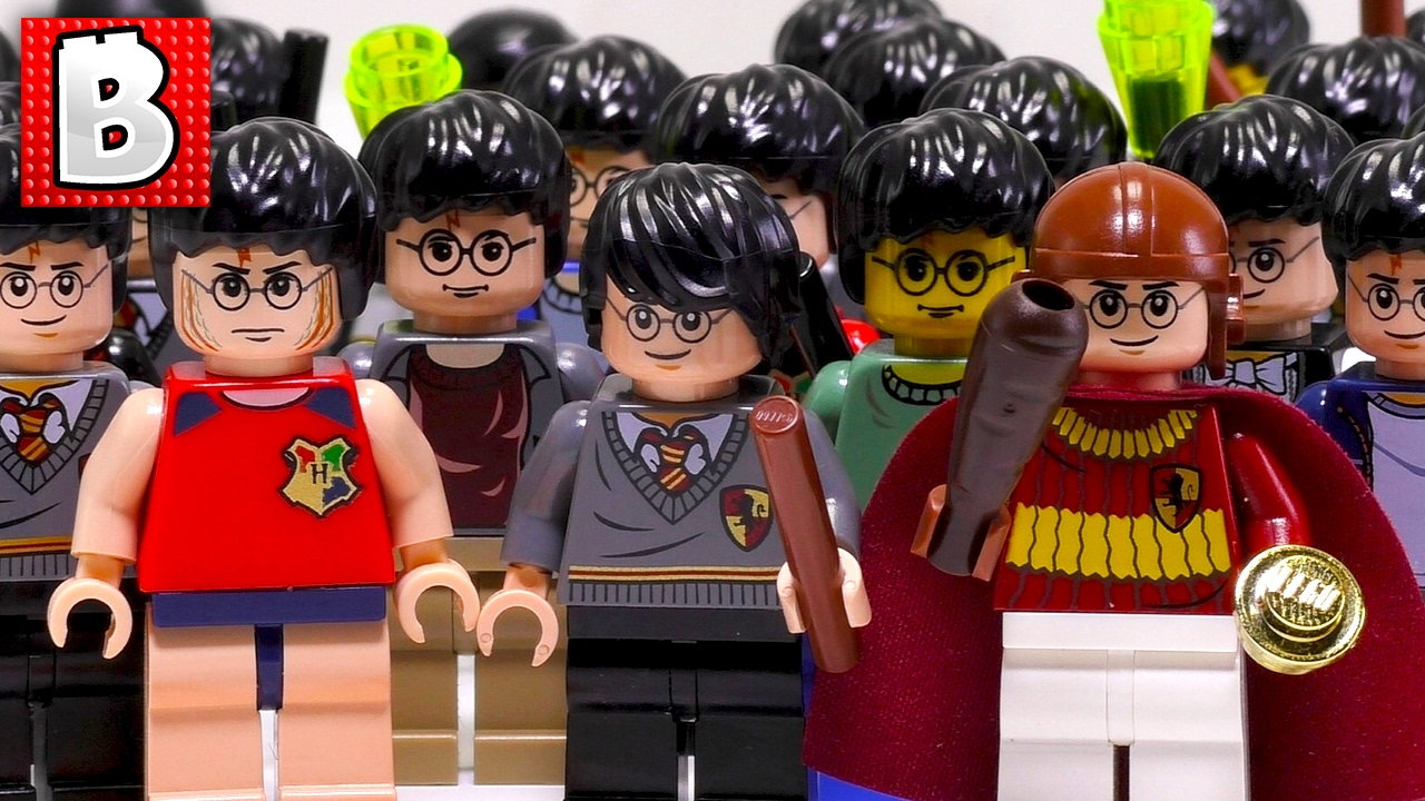 Every Lego Harry Potter Minifigure Ever Made Collection Review Youtube
