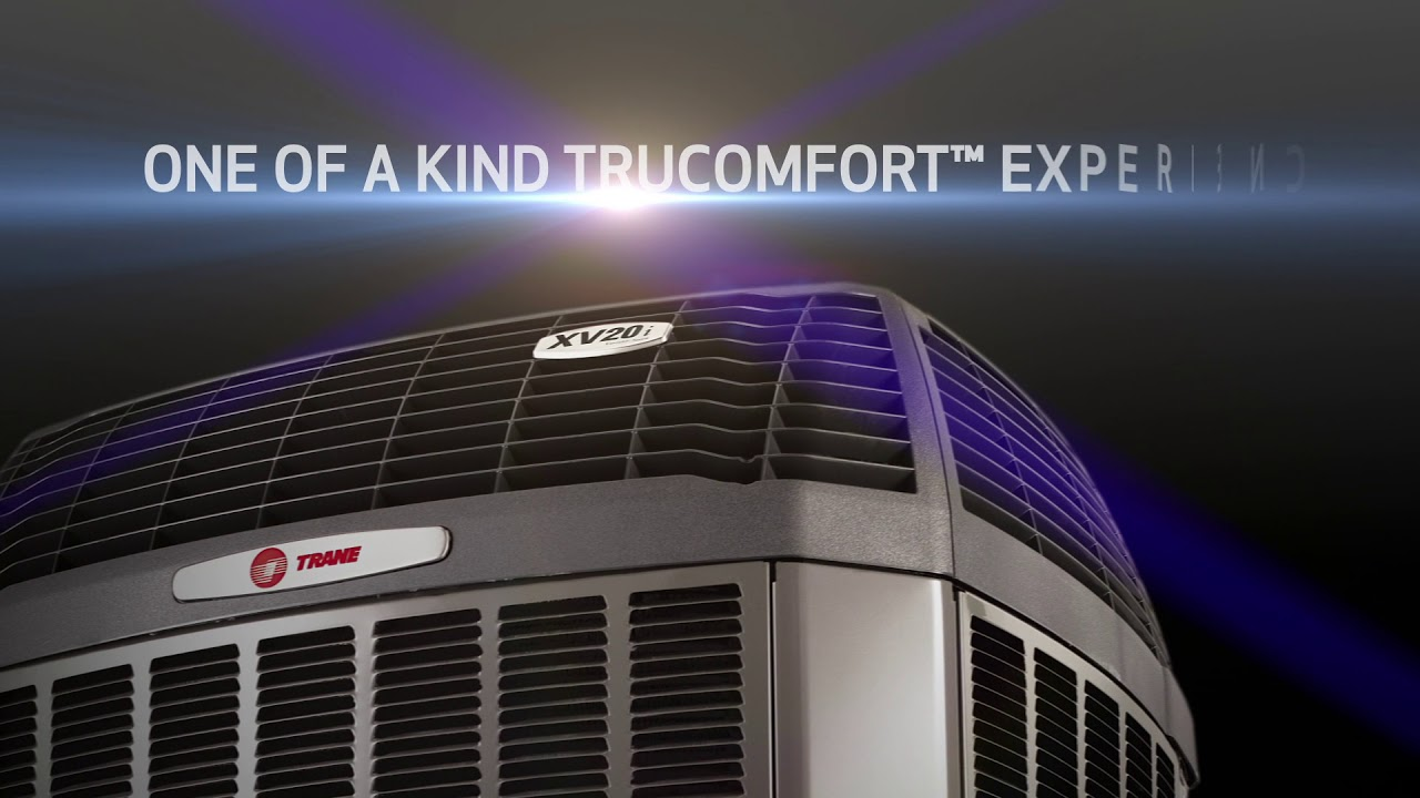 Trane Xv20i Trucomfort Variable Speed Air Conditioner Youtube