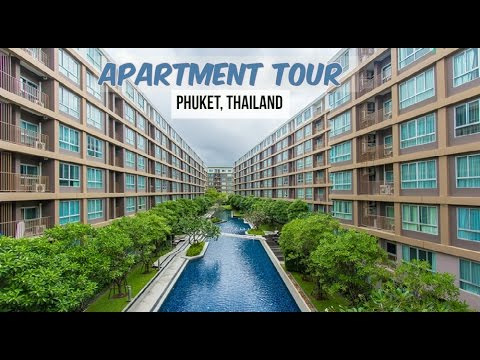250$ Apartment Tour in Phuket, Thailand