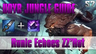 Season 7 | Runic Echoes Zz'Rot Udyr Jungle Guide: How To Carry a Team of Feeders