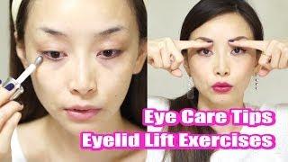 Eye Care Tips & Eyelid Lift Exercises / 目もとケアの3つの方法 Thumbnail