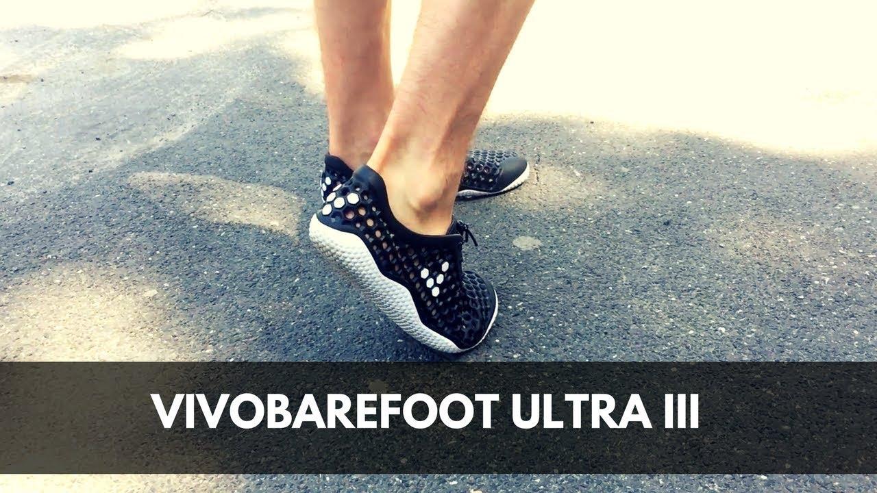 Vivobarefoot Ultra III - recenzia - YouTube