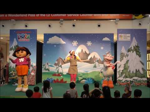 Nickjr: A present for Santa by Dora the explorer at City Square Mall