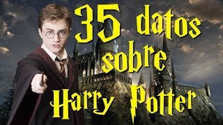 35 datos de Harry Potter que tal vez no sabías
