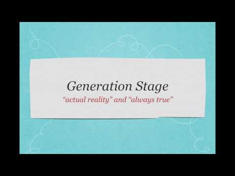 Generation Stage: Innate, Always True