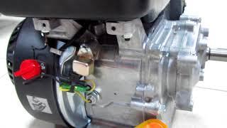 видео Ручной стартер на двигатель Honda G100