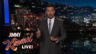 Jimmy Kimmel Just Wanted a Peaceful Morning