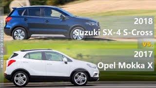 2018 Suzuki SX-4 S-Cross vs 2017 Opel/Vauxhall Mokka X (technical comparison)