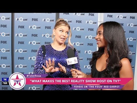 The Four's Fergie Teaches Her EPIC Spin & What She Would Be Like As A Judge! 👀