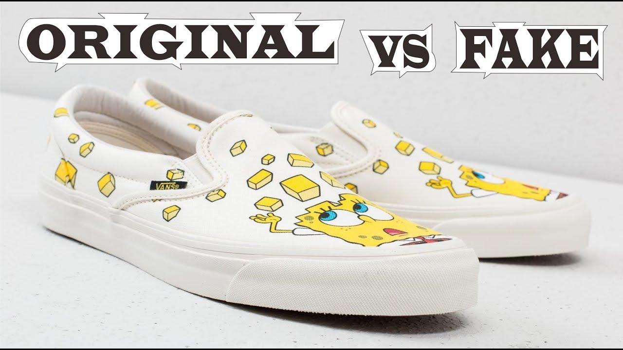Vans vault X Spongebob OG Classic Slip