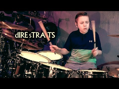 SULTANS OF SWING - DIRE STRAITS - Drum Cover by Avery Drummer
