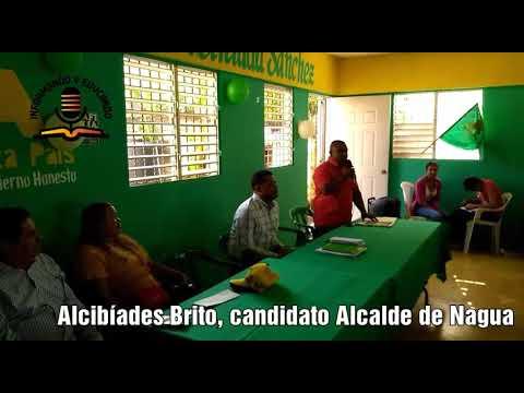 Alianza País, PRSD y PHD presentan candidaturas por el municipio Nagua y MTS.