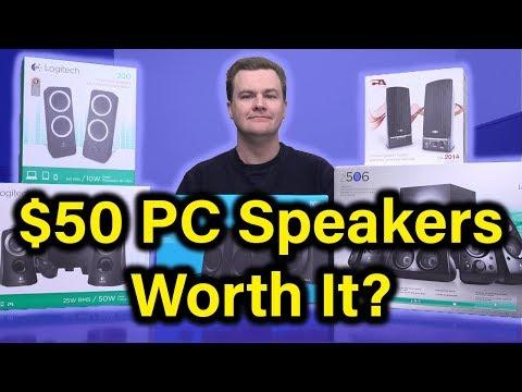 $50 PC Speakers - Logitech Z333 - Deal or No Deal?
