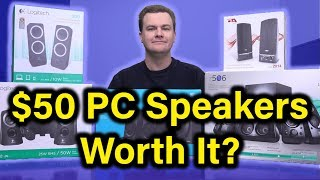 Video $50 PC Speakers - Logitech Z333 - Deal or No Deal? download MP3, 3GP, MP4, WEBM, AVI, FLV Mei 2018